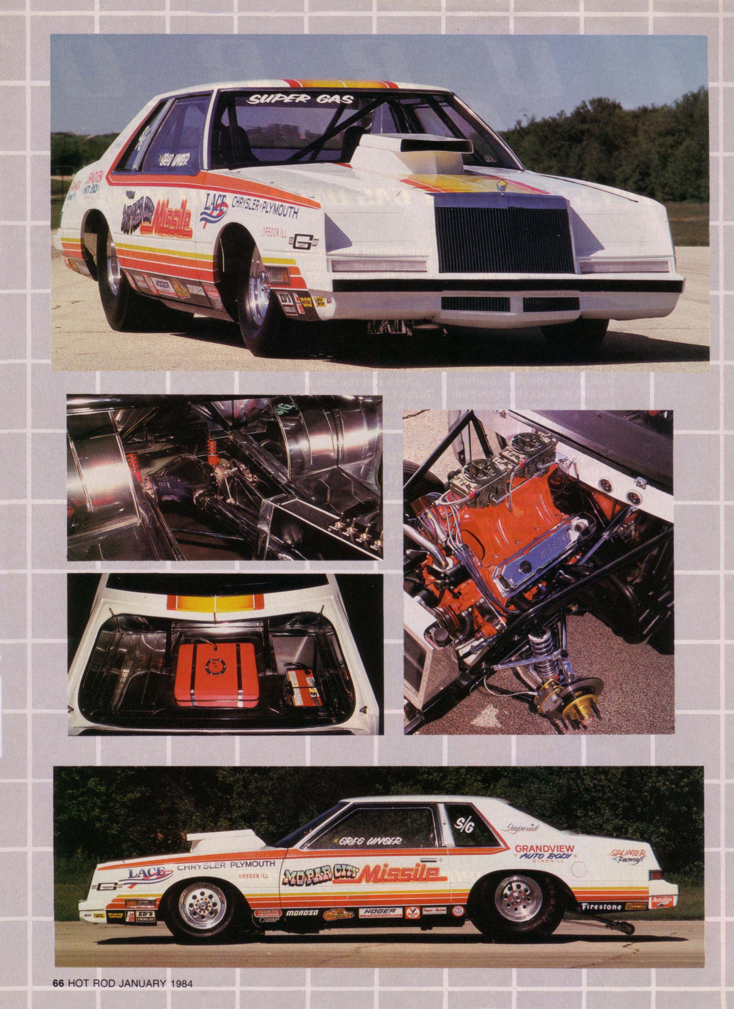 MoPar City Missile - 1983 Chrysler Imperial from Hot Rod Magazine