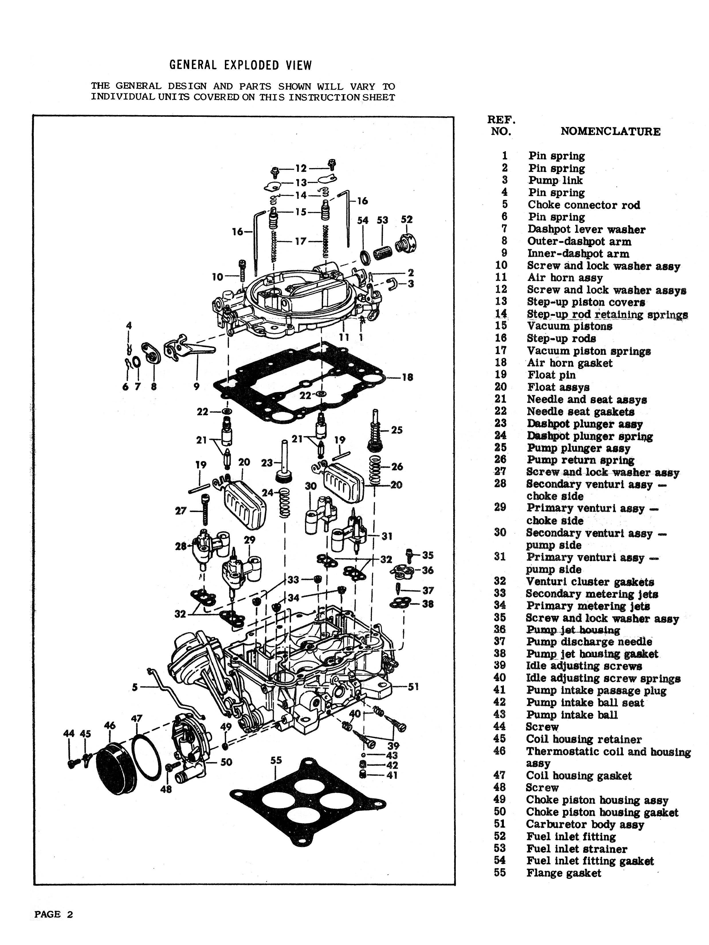 ford 400 carb choice