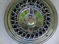 1956 Imperial Wire Wheel