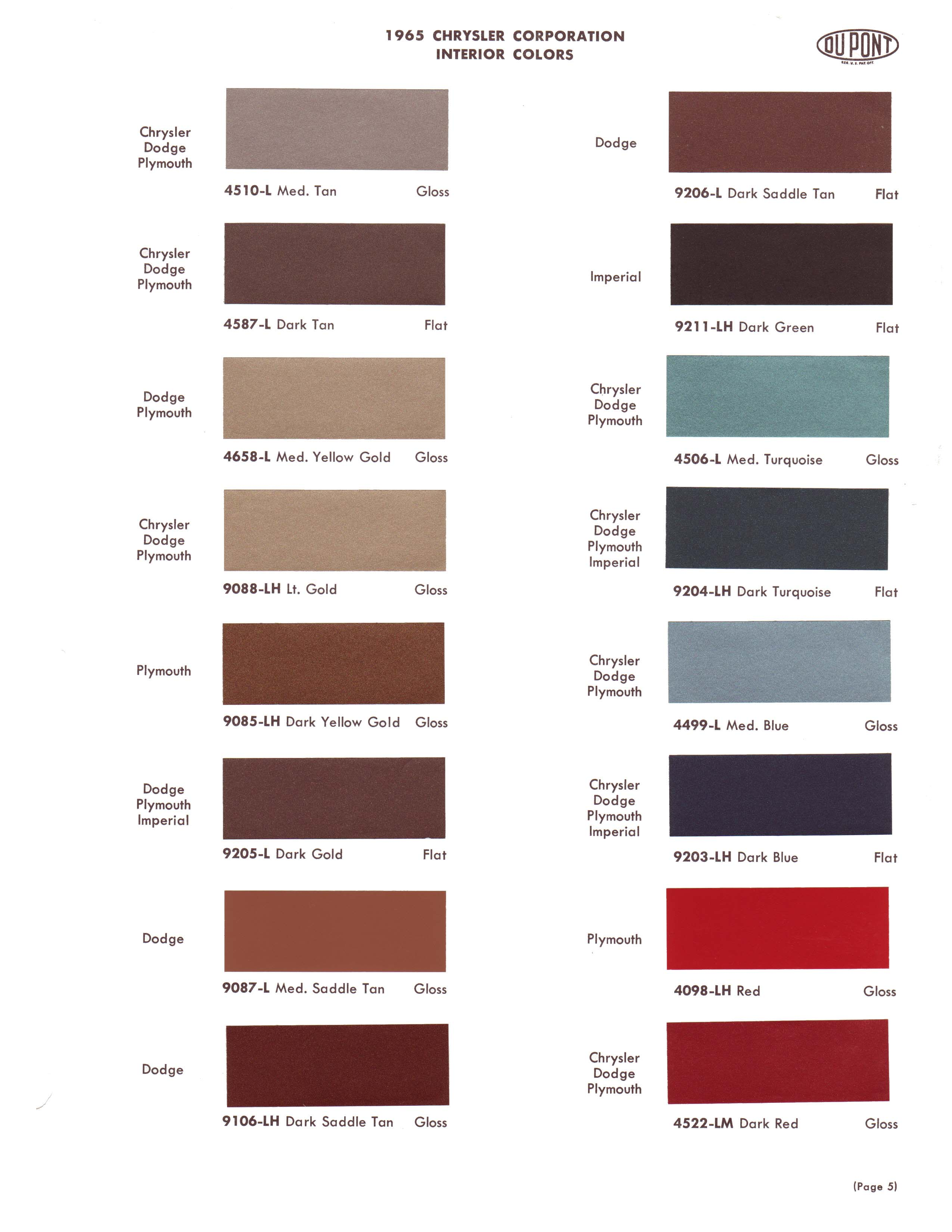 1965 exterior paint color charts. Black Bedroom Furniture Sets. Home Design Ideas