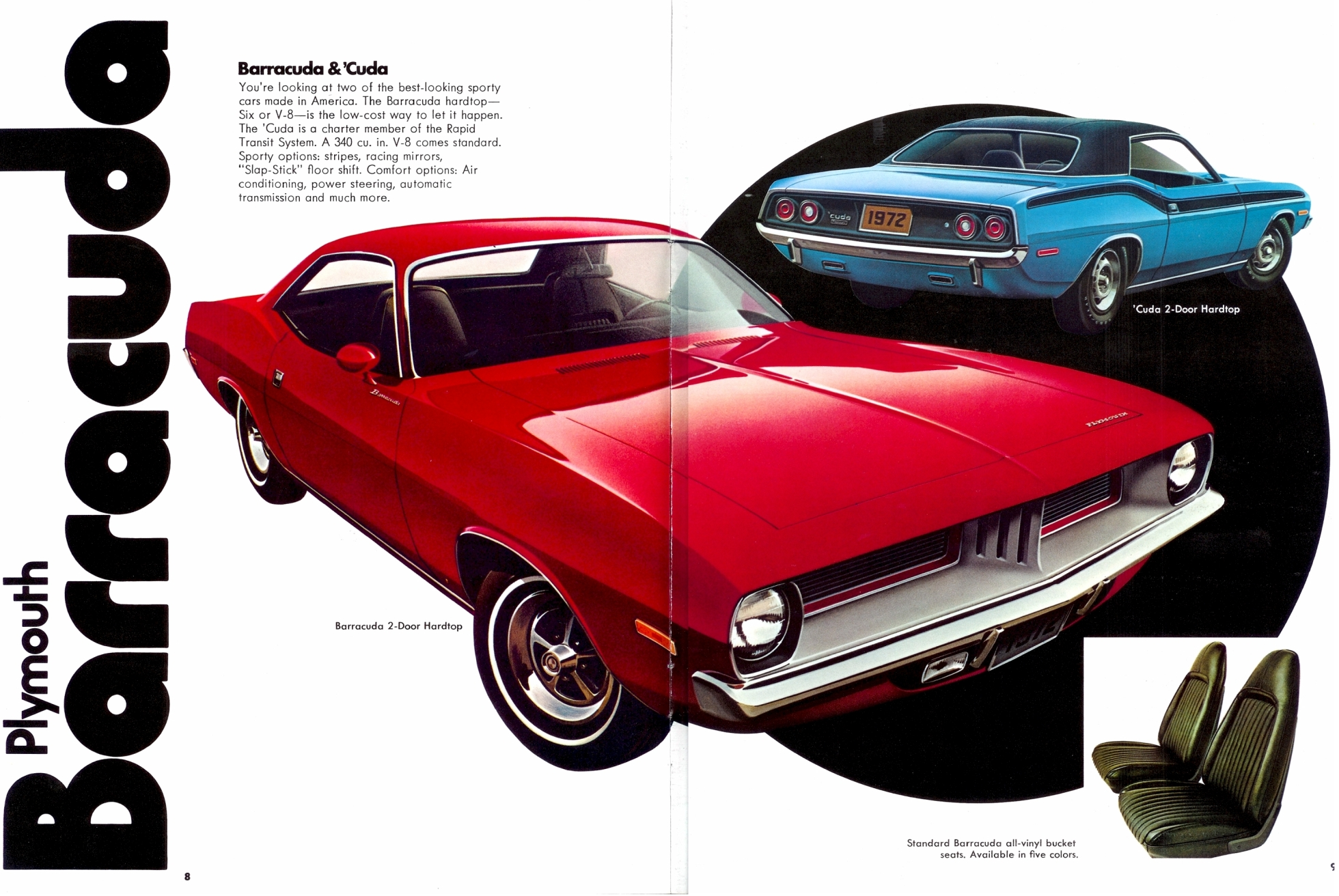 8-9: Plymouth Barracuda